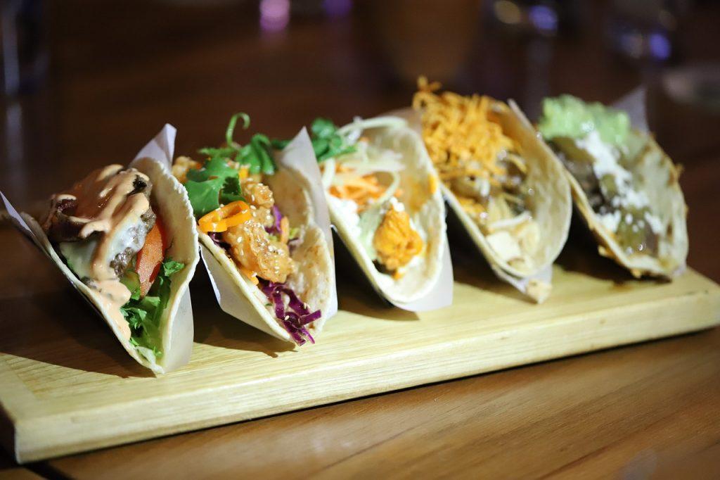 Taco, Makanan Khas Meksiko