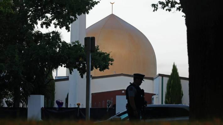aksi penembakkan masjid new zealand - posciety