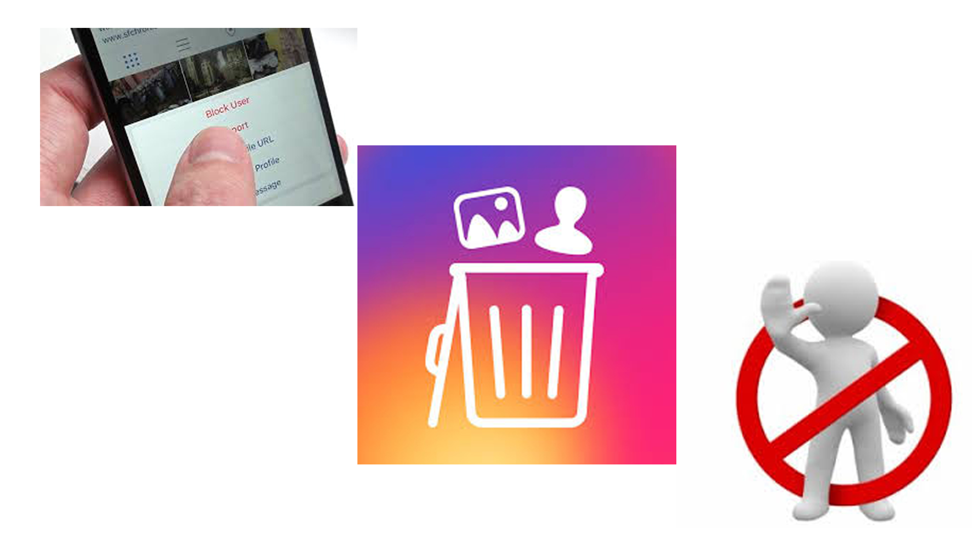 cara blokir akun instagram - rio bermano