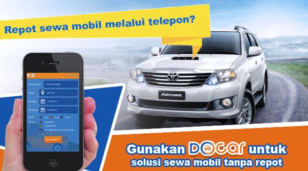 aplikasi docar sewa mobil mudah terpercaya - rio bermano