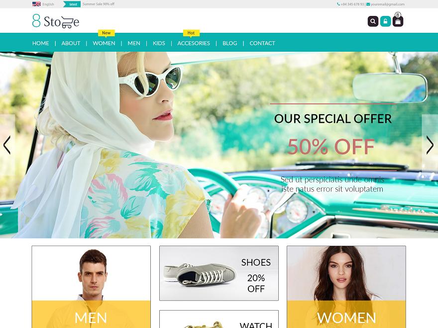 tema wordpress toko online gratis terbaik - rio bermano