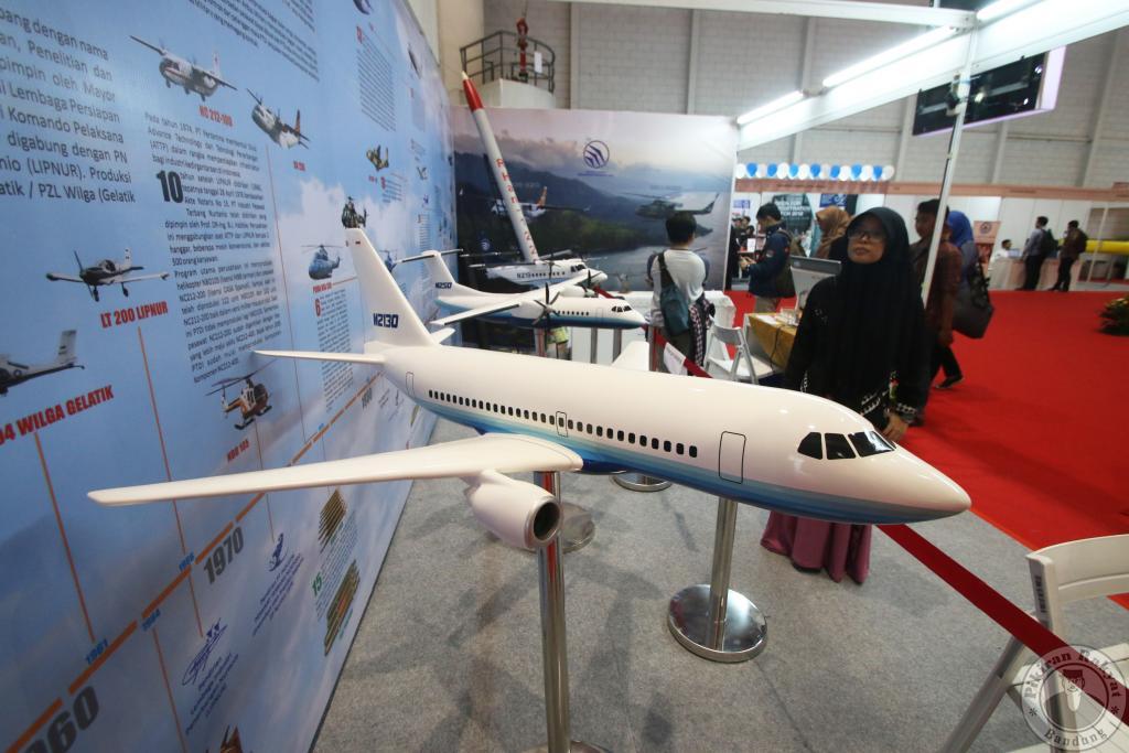 sumbang pesawat r80 habibie indonesoa - rio bermano