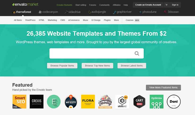 cara beli tema plugin wordpress di themeforest rupiah - posciety