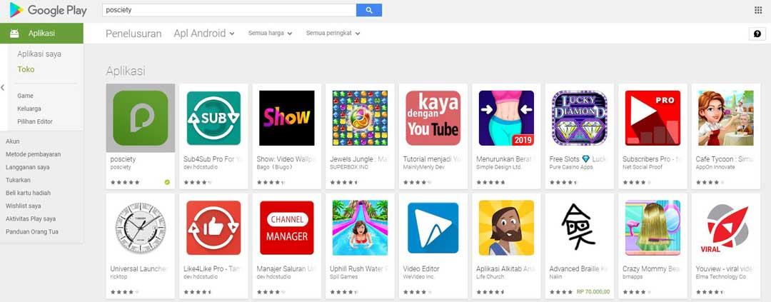 cara install app game play store di pc tampil di hp - posciety