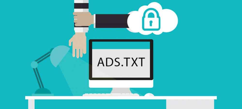 cara memasang ads.txt web server - posciety