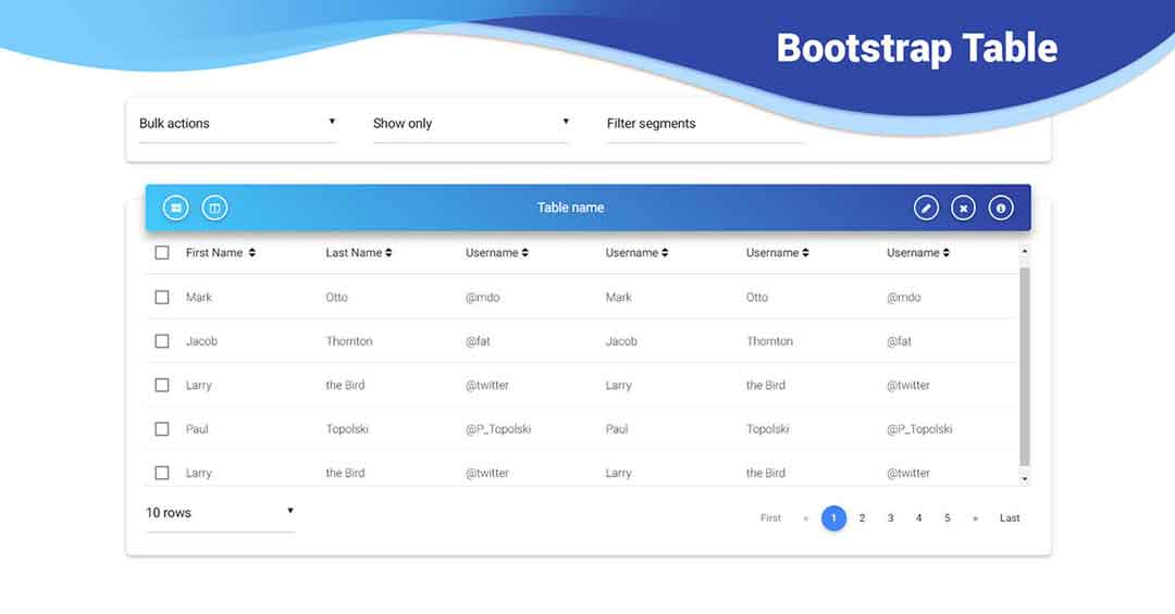 cara membuat search table bootstrap jquery - posciety