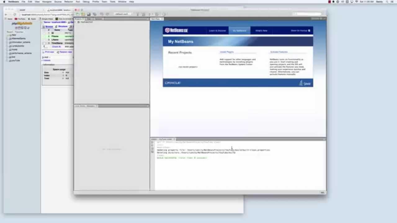 cara menghubungkan netbeans ke database - rio bermano