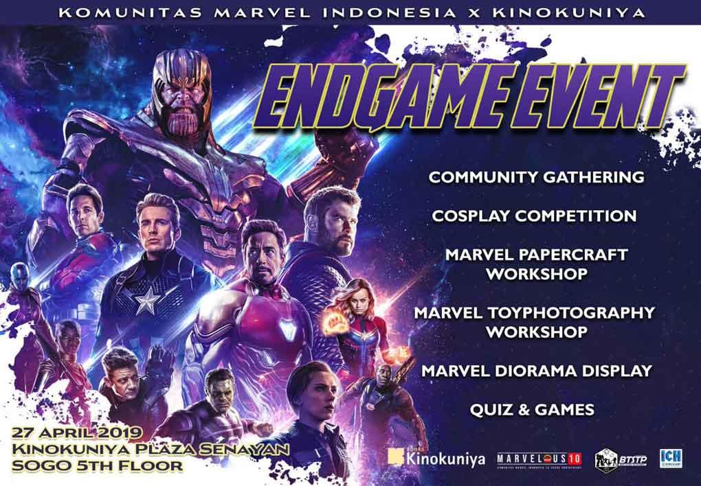 cosplay dan talkshow avenger endgame senayan - posciety