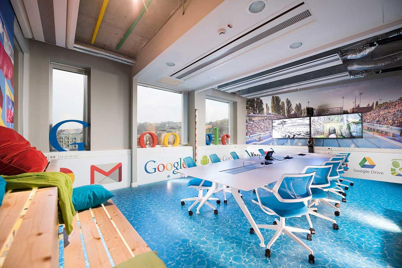 fasilitas kantor google - posciety