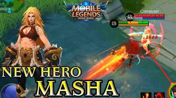 hero baru mobile legends masha - posciety