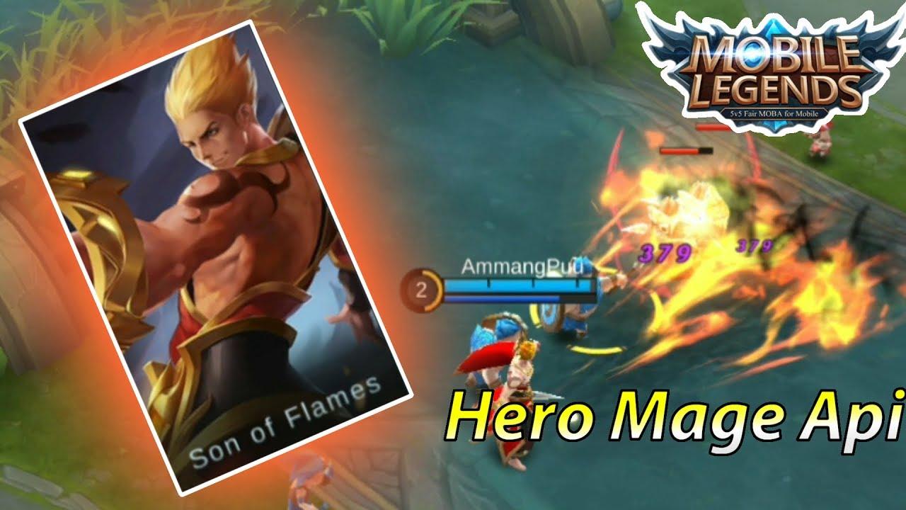 hero mobile legends baru mage valir - rio bermano