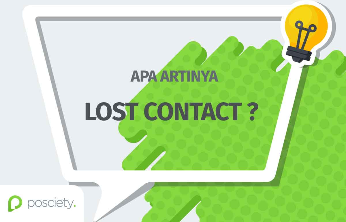 istilah lost contact - posciety