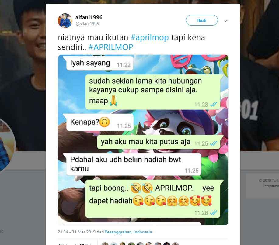 kumpulan kocak april mop 2019 - posciety