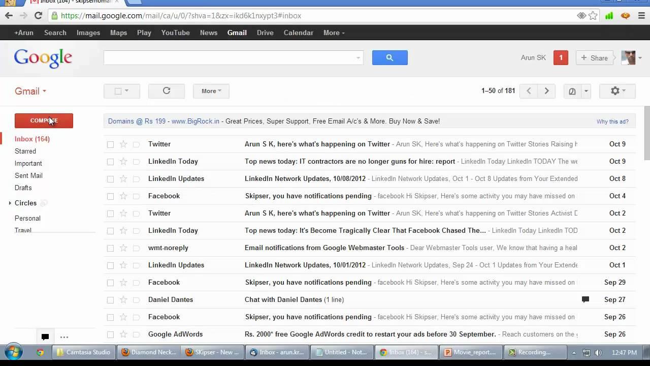 cara mengganti bahasa tampilan google mail gmail - rio bermano