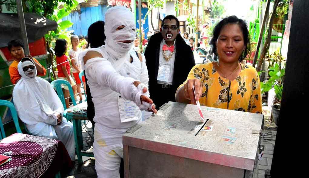 suasana horor di tps saat pemilu 2019 - posciety