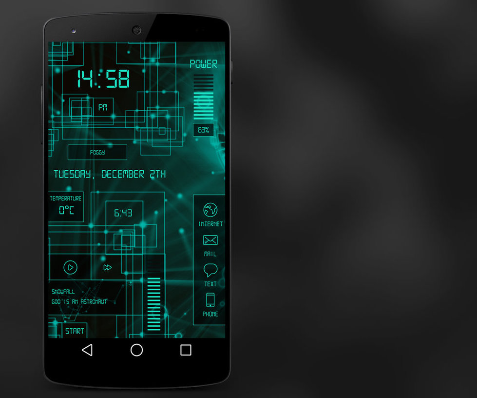 tema launcher android gratis keren - rio bermano