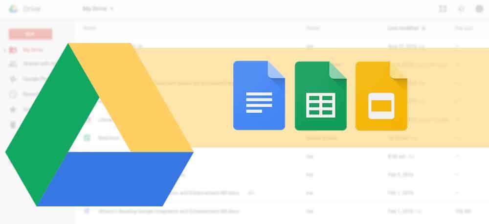 trik baru membuat google sheet docs drive - posciety