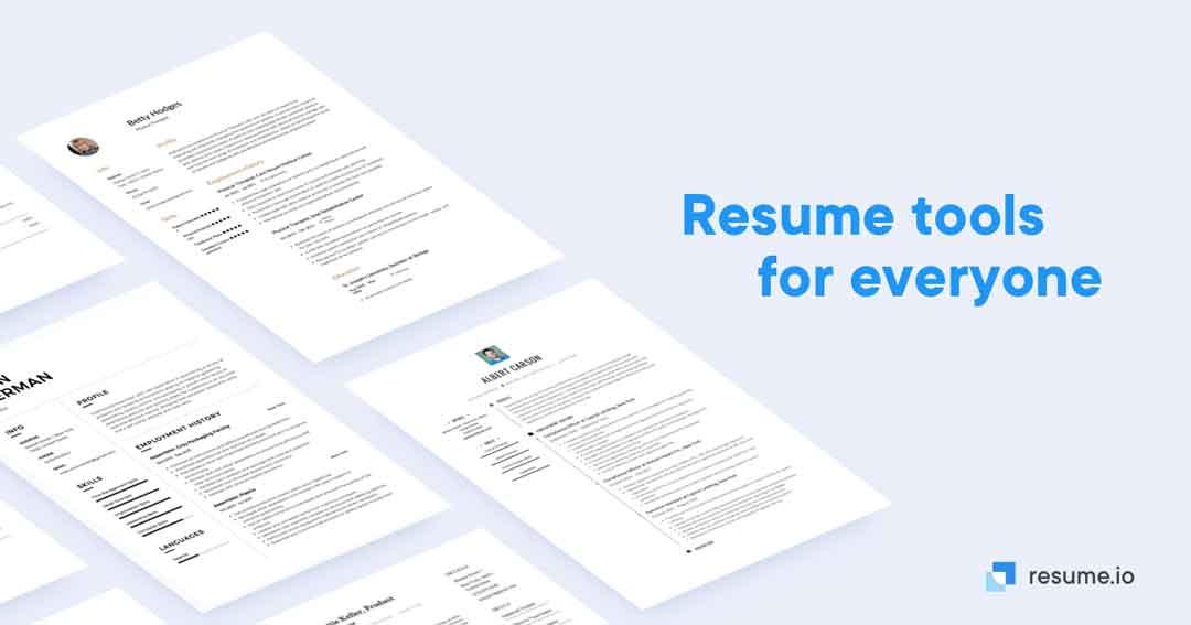 trik resume.io resume online gratis - posciety
