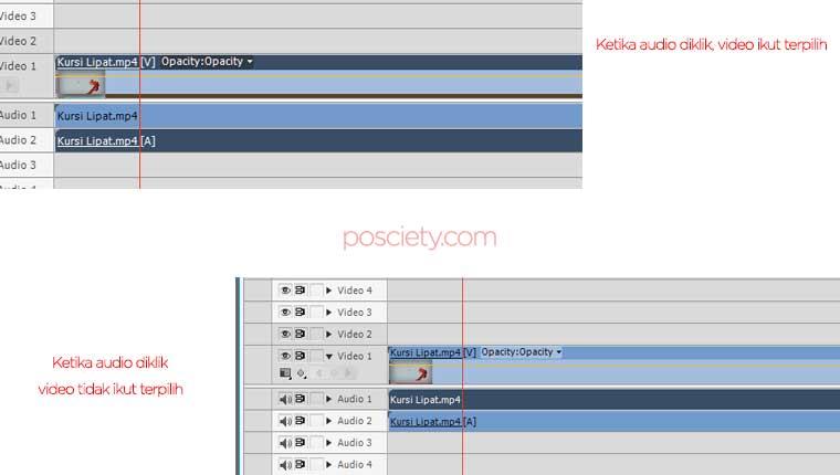 video dan audio terpisah adobe premiere pro